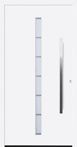 Aluminium-Haustür ThermoSafe Motiv 189