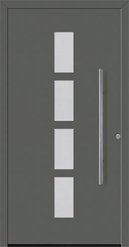 Aluminium-Haustür ThermoSafe Motiv 501