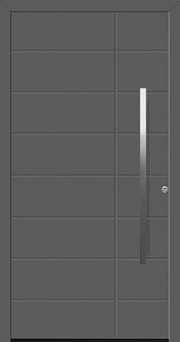 Aluminium-Haustür ThermoSafe Motiv 862