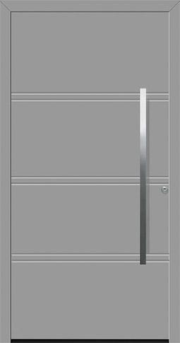 Aluminium-Haustür ThermoSafe Motiv 872