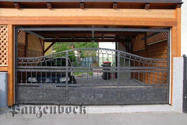 Ihr Carporttor von der Kunstschmiede Panzenböck