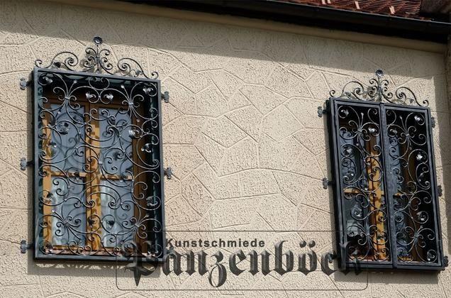 Fenstergitter und Gittertüren