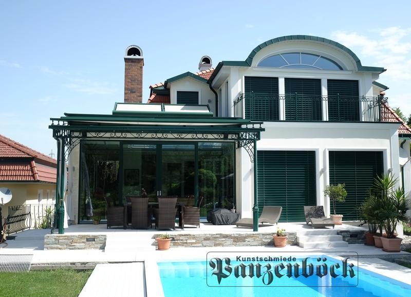 Vordach Terrassenüberdachung Sonnenschutz Markise Glasdach