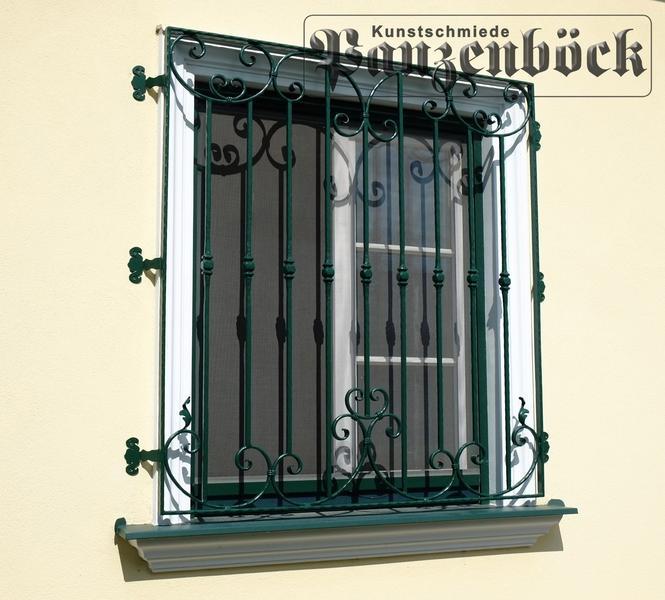 Fenstergitter Schmiedeeisen Einbruchschutz