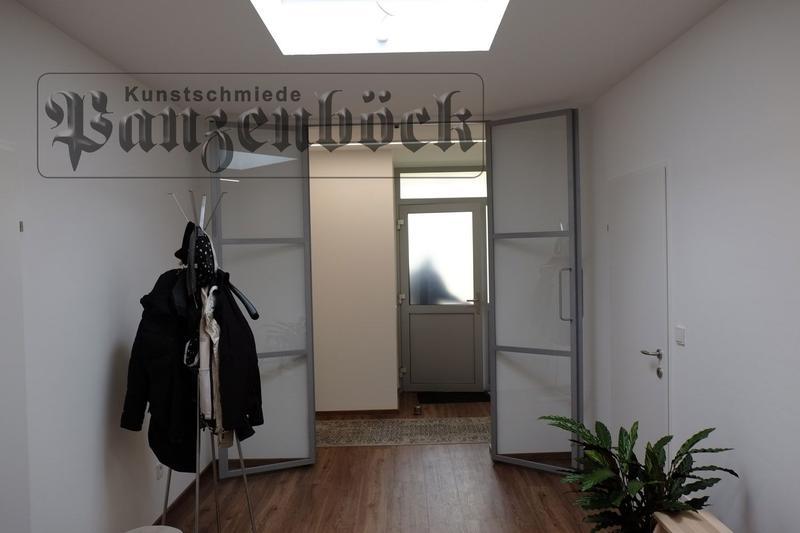 Elegante Glastüre für den Wohnraum