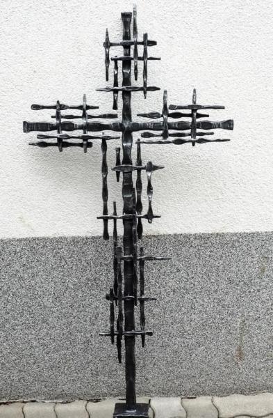 Grabkreuze aus Schmiedeeisen
